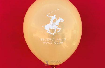 چاپ بادکنک beverly hills club