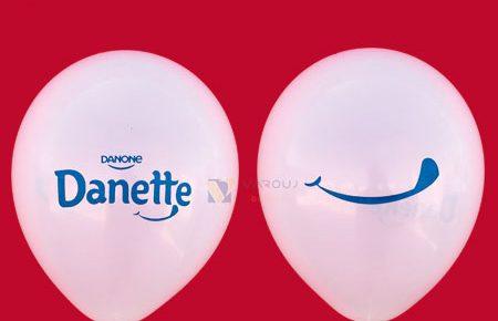چاپ دوطرف بادکنک تبلیغاتی دنت